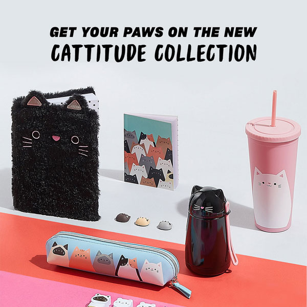 cute cats stationery