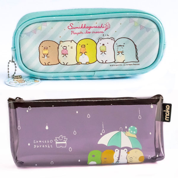 sumikko gurashi kawaii pencil cases