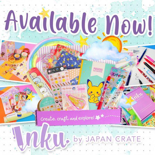 Inku Crate Kawaii Stationery Subscription Box