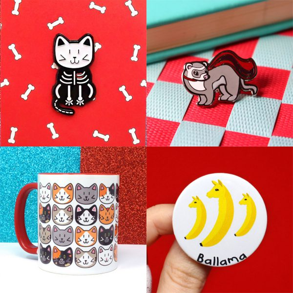 kawaii discount enamel pins mugs patches