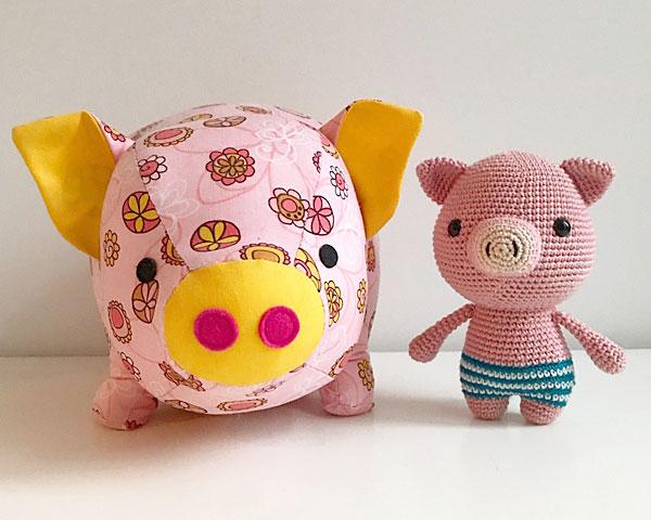 year of the pig kawaii craft patterns