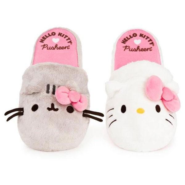 Hello Kitty x Pusheen slippers