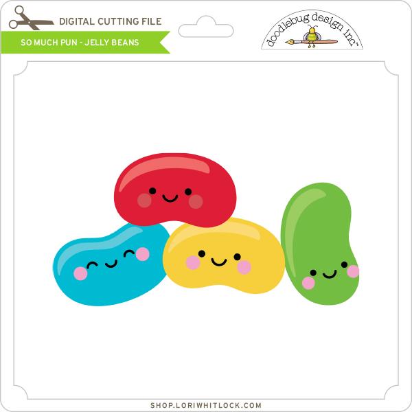 Kawaii Jelly Beans SVG
