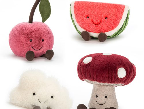 jellycat kawaii plush fruit
