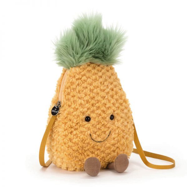 jellycat kawaii plush pineapple bag