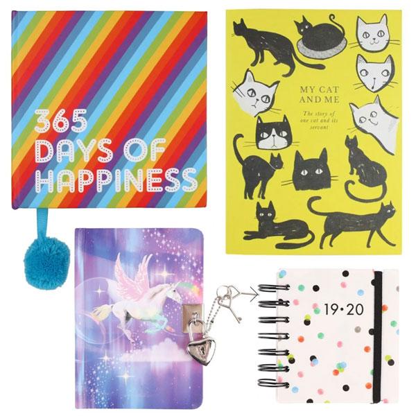 kawaii diaries and journals
