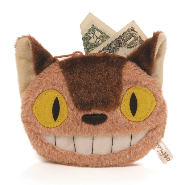 totoro catbus coin purse