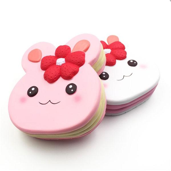 bunny cake kawaii squishies