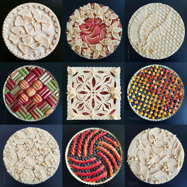 apple pie decorating
