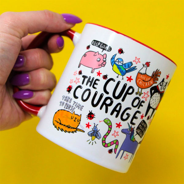 cute self care mug
