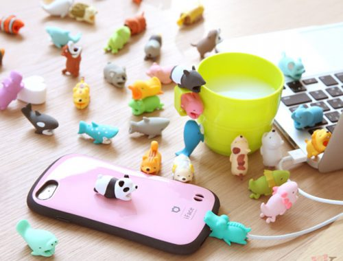 Cable Bite kawaii animals