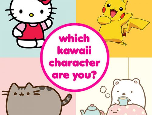 which kawaii character are you?