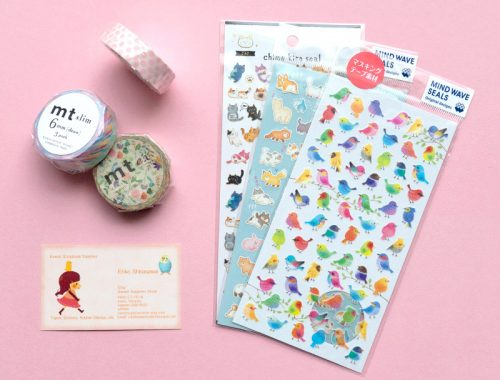 Kawaii Journaling supplies
