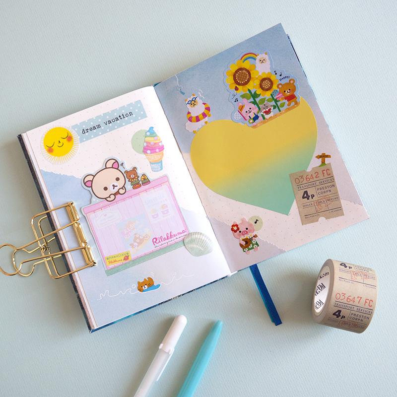 Summer Kawaii Journaling Challenge