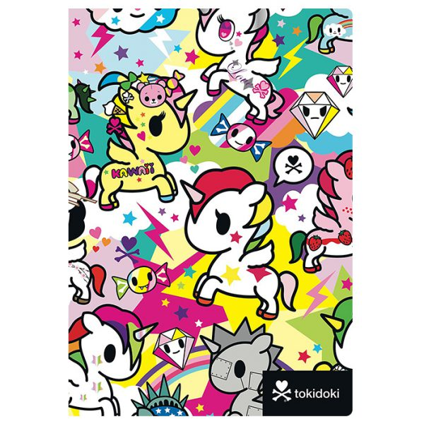 tokidoki Unicorno kawaii journal