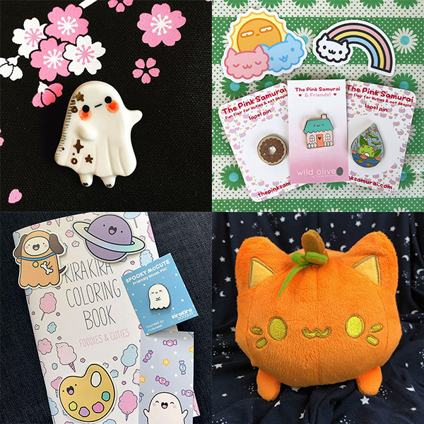 kawaii etsy shops