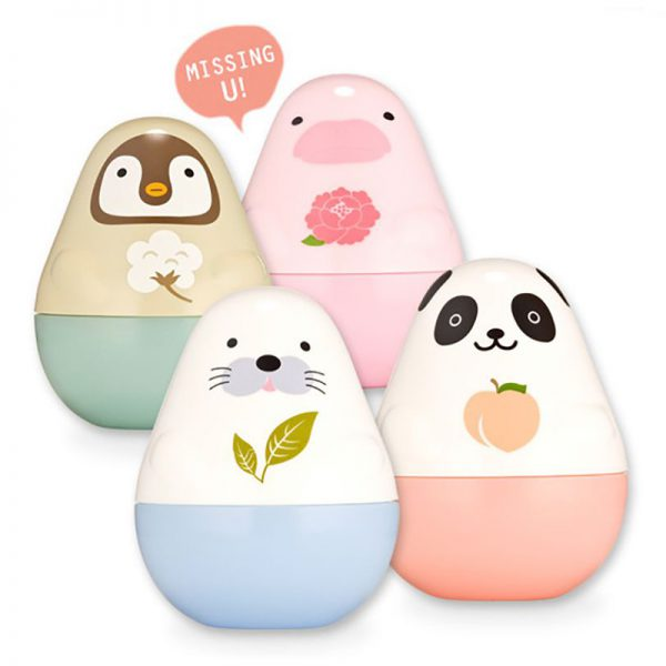 kawaii beauty animal hand cream