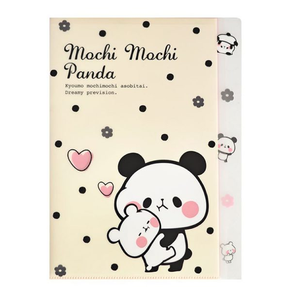 kawaii panda stationery file folder