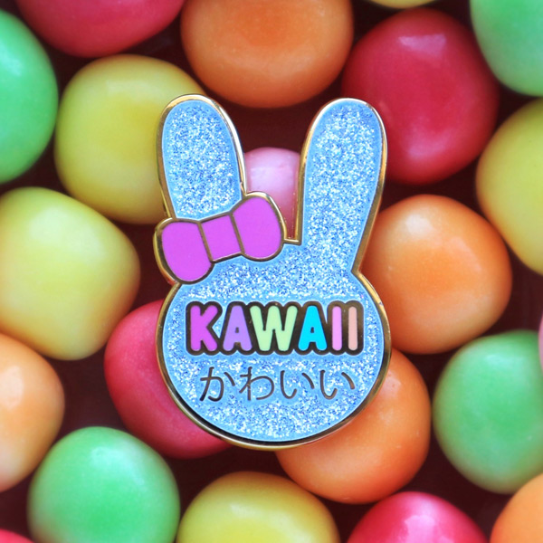 Box Monster kawaii giveaway enamel pin