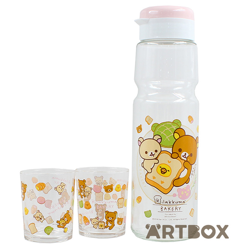 kawaii rilakkuma tea set