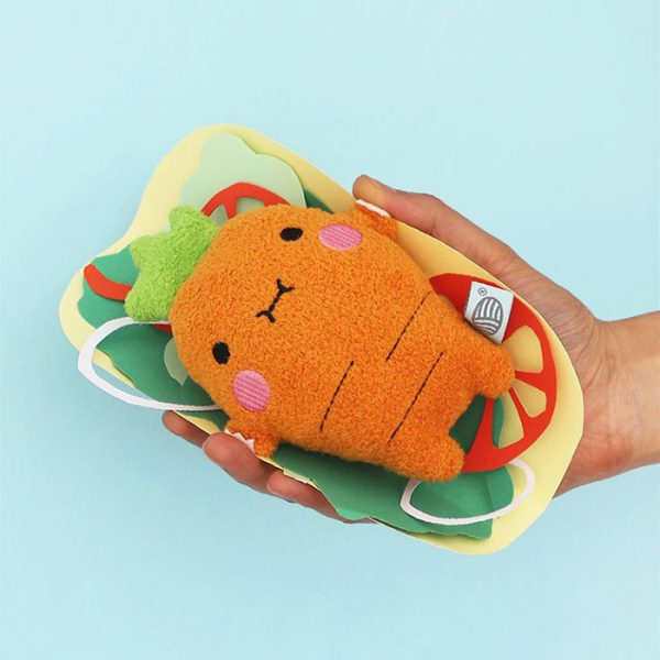 kawaii carrot plush