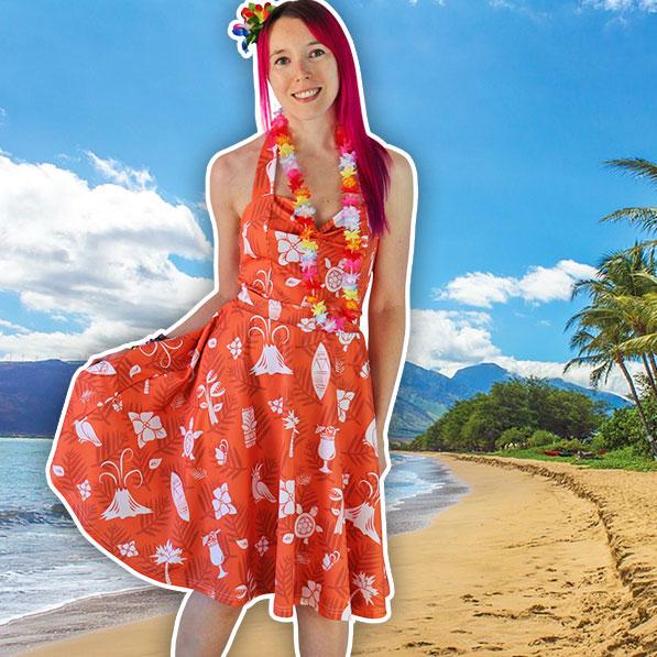 kawaii fashion dress hawaii