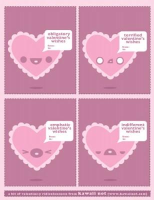 kawaii not valentines