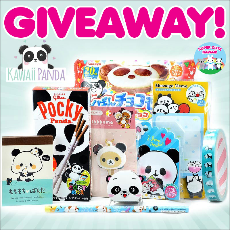 kawaii panda box giveaway