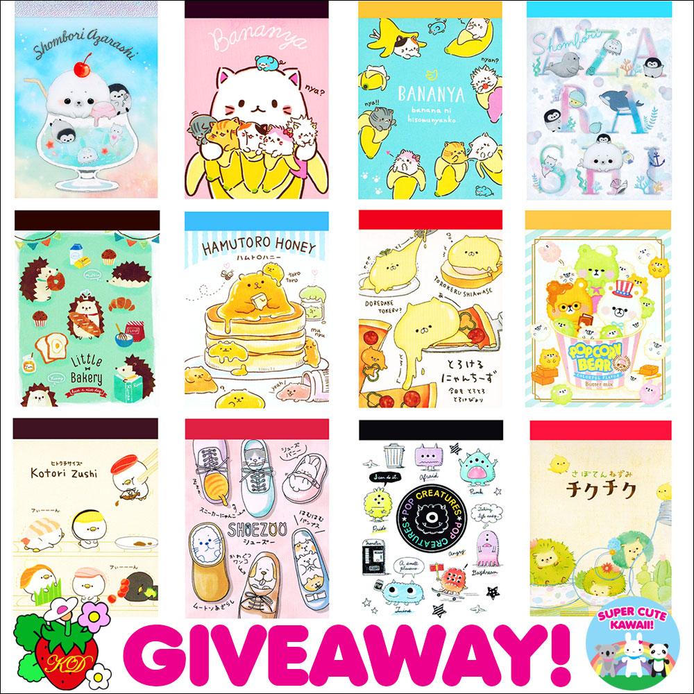 mini memo pads giveaway