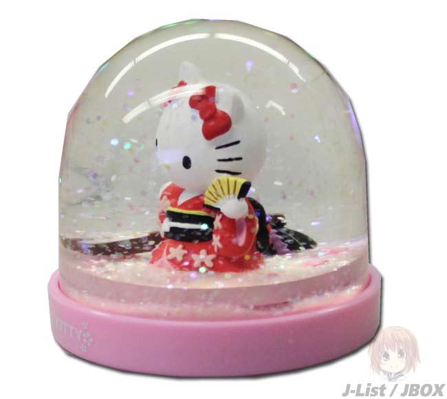 kitty snow dome