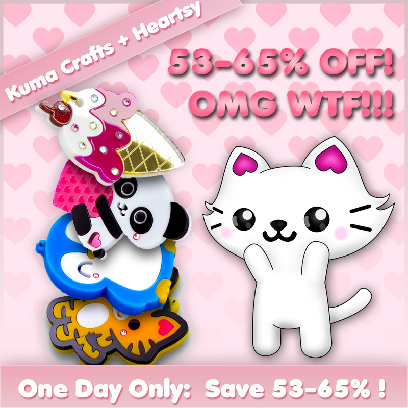 kuma crafts on heartsy