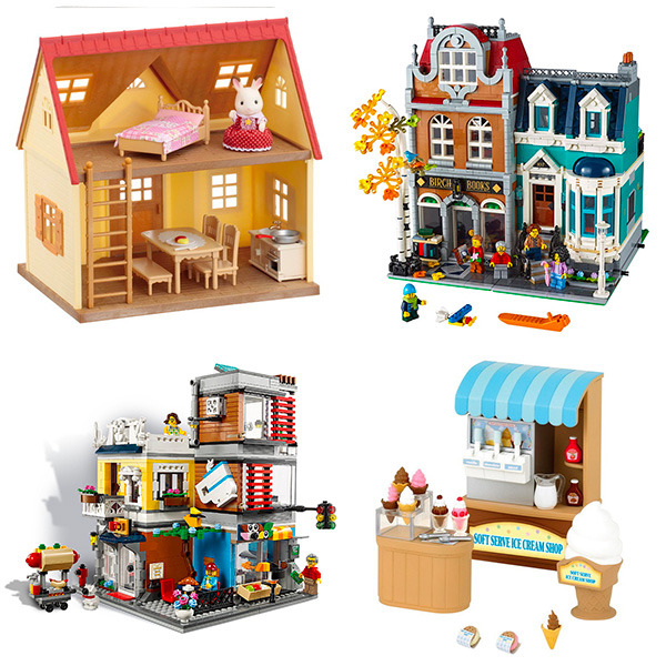 Kawaii dollhouse sets