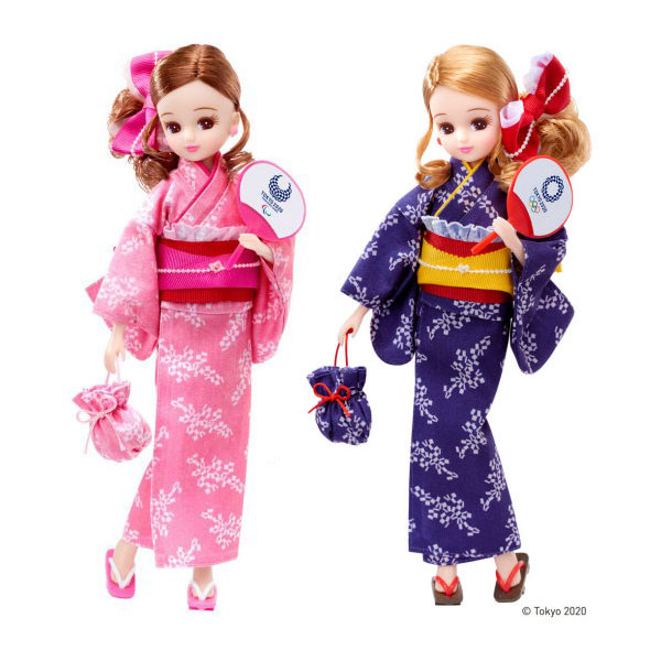Tokyo Olympic Games Licca-chan dolls