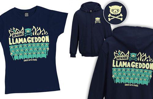 llamageddon kawaii hoodies