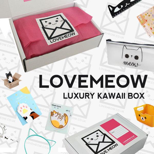 love meow kawaii box