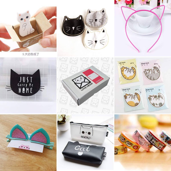 love meow kawaii box