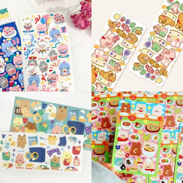 Cute Korean Sticker Shops