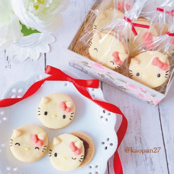 Hello Kitty cookies kawaii recipe