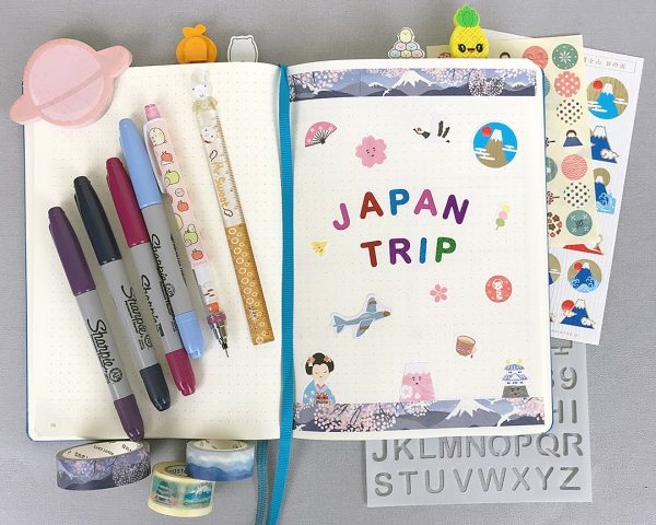 Kawaii Journalling Supplies - Marceline / @marcelinesmith