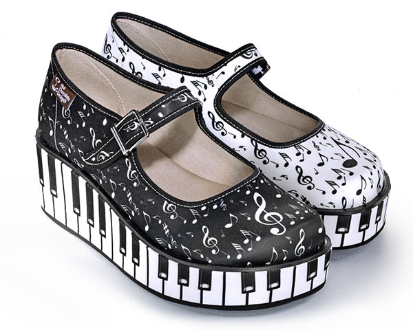 Hot Chocolate platform shoes - music
