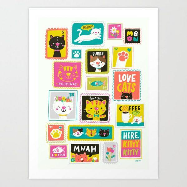 Kawaii Art Prints on Society6