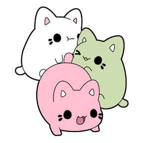Kawaii Cats - Meowchi