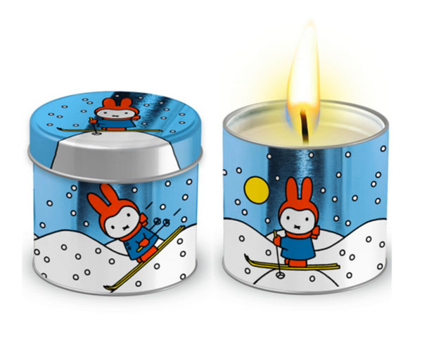 Miffy christmas tea lights