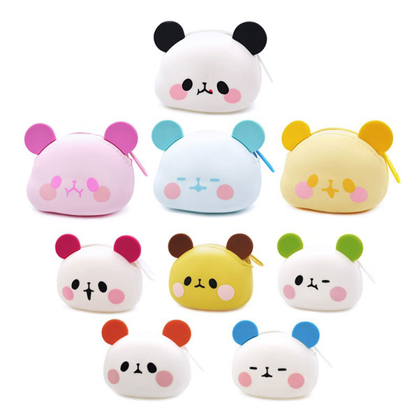 kawaii panda coin purse