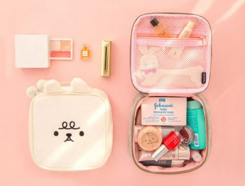 Kawaii Beauty Accessories - cosmetic bag