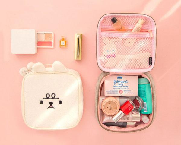 Kawaii Beauty Accessories - cosmetic bag