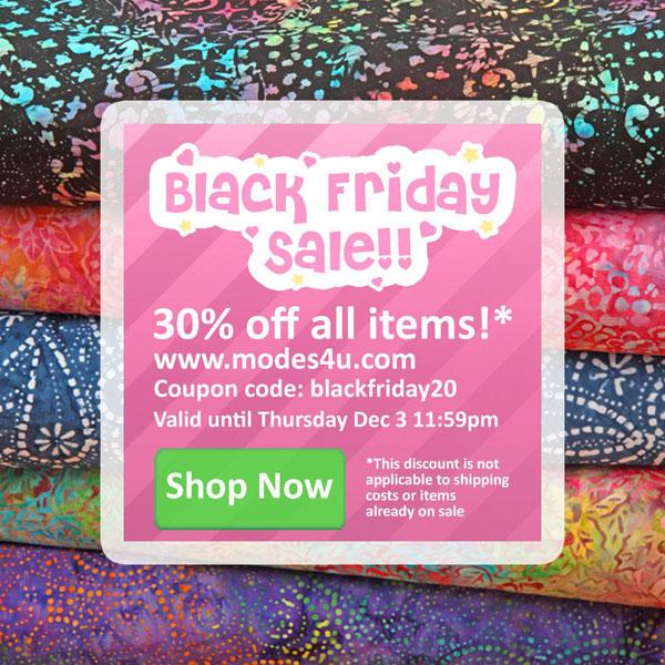 Kawaii Shops Black Friday Sales