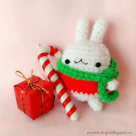 Christmas Crochet Patterns - molang bunny