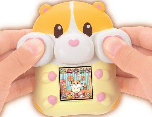 Momo Motchimaruzu Hamster Virtual Pet