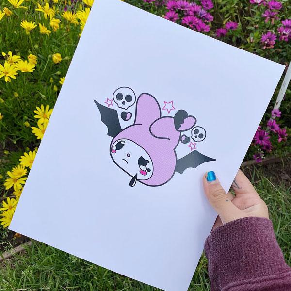 creepy cute kawaii art
